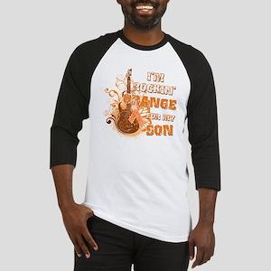 Im Rockin Orange for my Son Baseball Jersey
