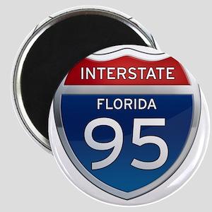 Interstate 95 - Florida Magnet