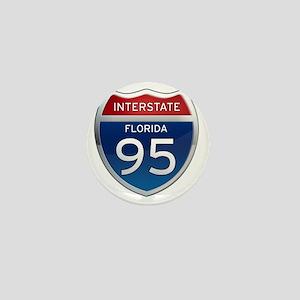 Interstate 95 - Florida Mini Button