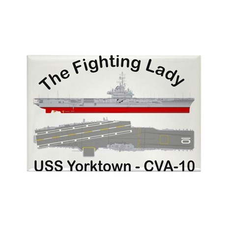 Essex-Yorktown-T-Shirt_Large Rectangle Magnet
