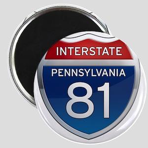 Interstate 81 - Pennsylvania Magnet
