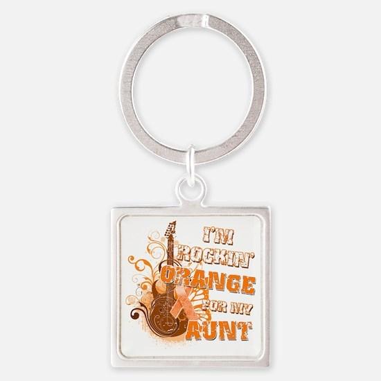 Im Rockin Orange for my Aunt Square Keychain