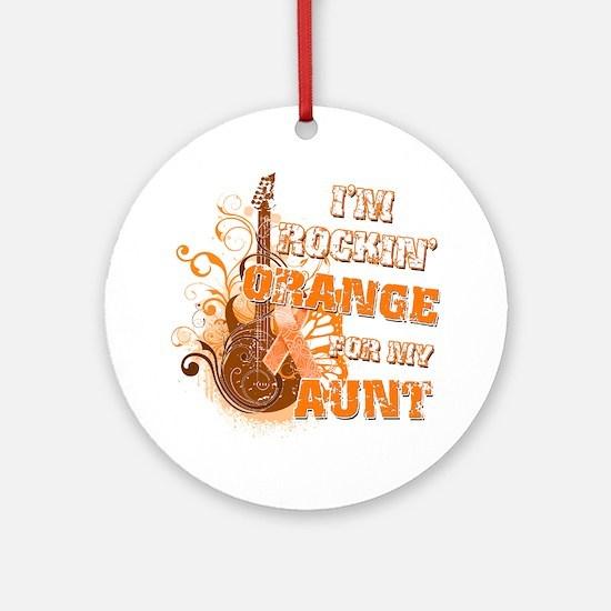 Im Rockin Orange for my Aunt Round Ornament