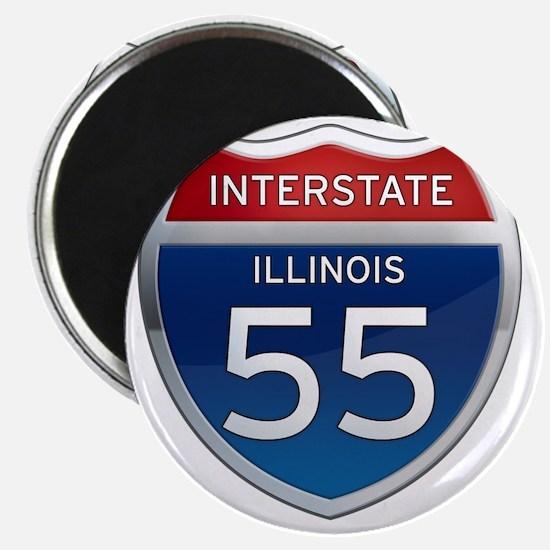 Interstate 55 - Illinois Magnet