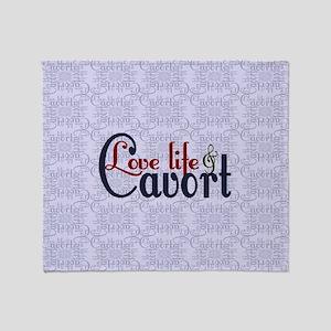 Love Life Cavort Throw Blanket