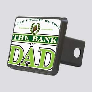 The Bank of Dad Rectangular Hitch Cover