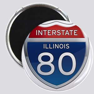 Interstate 80 - Illinois Magnet