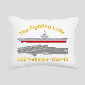 Essex-Yorktown-T-Shirt_L Rectangular Canvas Pillow