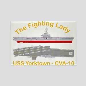 Essex-Yorktown-T-Shirt_Large_Tran Rectangle Magnet
