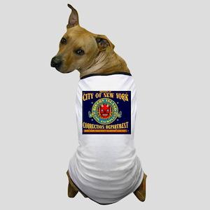 RIKERS_ISLAND_9x7.5_mpad Dog T-Shirt