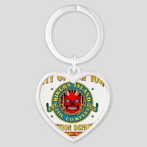 RIKERS_ISLAND_2.75x2.75_apparel Heart Keychain