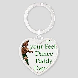 Dance Paddy Dance Heart Keychain