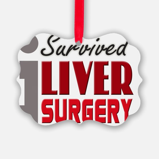 isurvived-liversurgery Picture Ornament