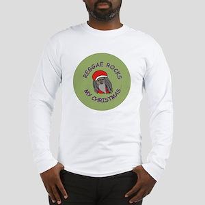 Reggae Rocks My Christmas Long Sleeve T-Shirt