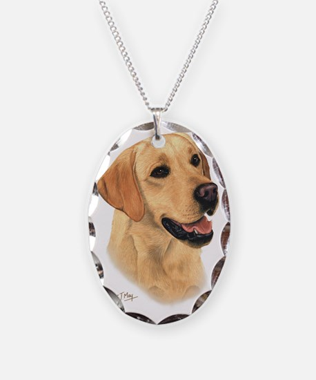 Yellow Lab 2 Necklace