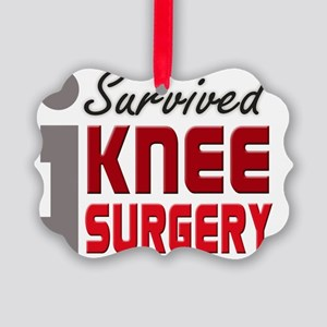 isurvived-kneesurgery Picture Ornament