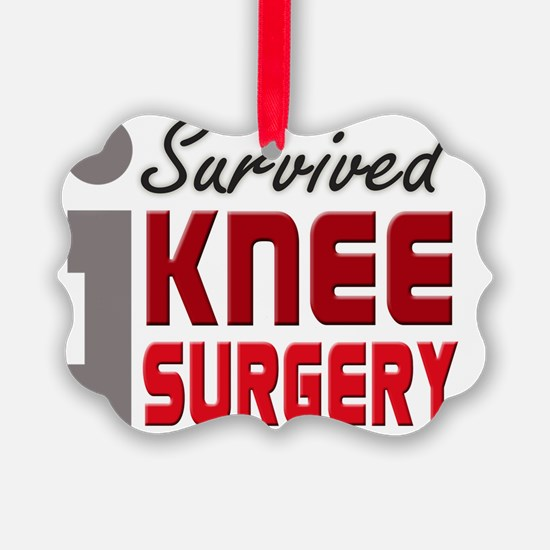 isurvived-kneesurgery Ornament