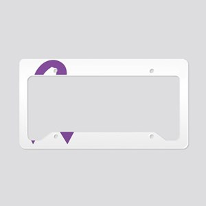 littleheropurple License Plate Holder