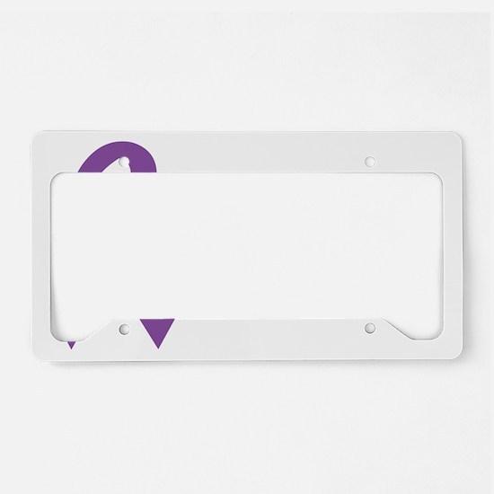 littleheropurple License Plate Holder