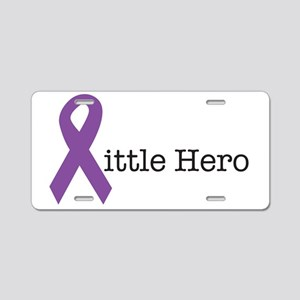 littleheropurple Aluminum License Plate