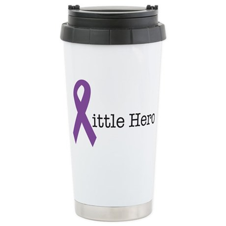 littleheropurple Stainless Steel Travel Mug