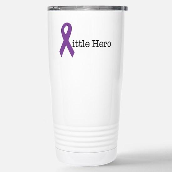 littleheropurple Stainless Steel Travel Mug
