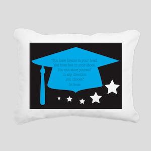 DRSEUSSMORTARBOARD Rectangular Canvas Pillow