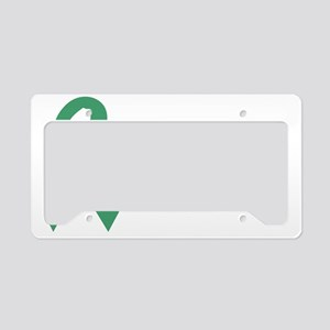 LITTLEHEROGREEN License Plate Holder