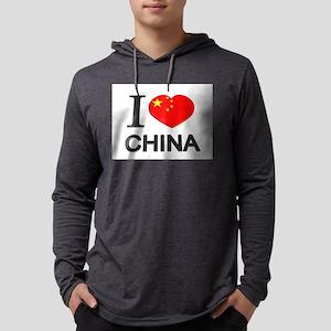 Love China Mens Hooded Shirt