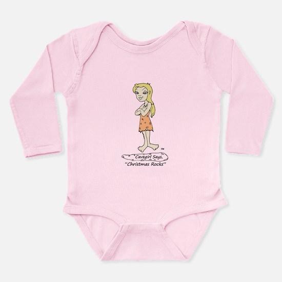 Christmas Rocks Long Sleeve Infant Bodysuit