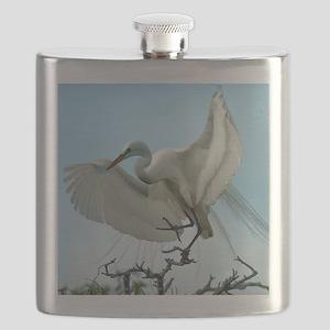 WhiteHeront_5X7 Flask