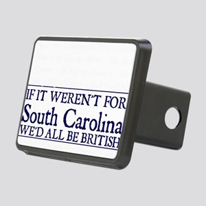 SC BRITISH Rectangular Hitch Cover