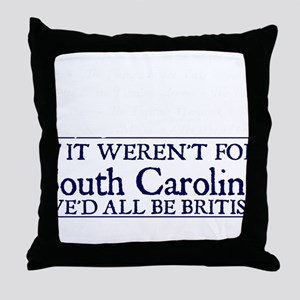 SC BRITISH Throw Pillow