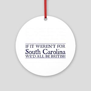 SC BRITISH Round Ornament