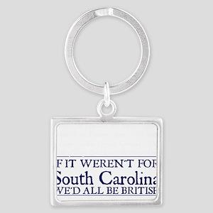 SC BRITISH Landscape Keychain