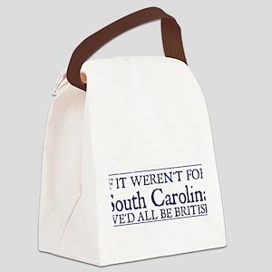 SC BRITISH Canvas Lunch Bag