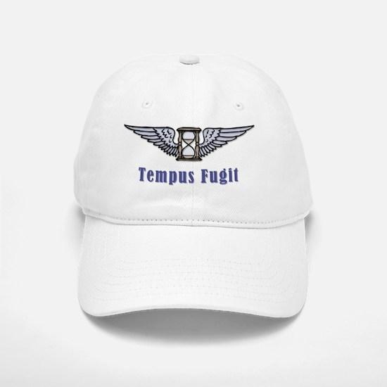 Tempus Fugit  Baseball Baseball Cap