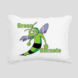 green_hornets Rectangular Canvas Pillow
