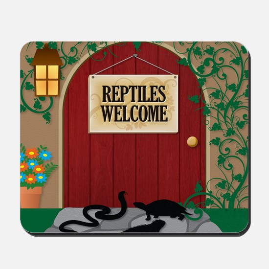 reptileswelcome9 Mousepad