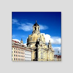 dresden frauenkirche history and city Sticker