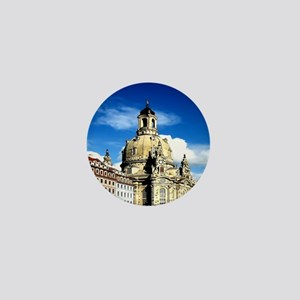 dresden frauenkirche history and city Mini Button