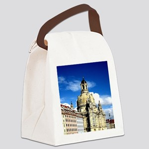 dresden frauenkirche history and city Canvas Lunch