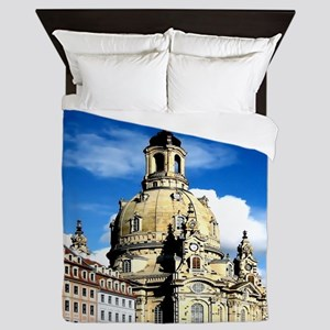 dresden frauenkirche history and city Queen Duvet