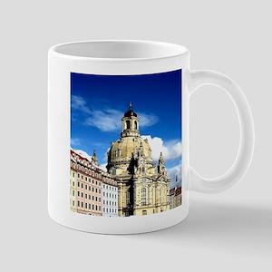 dresden frauenkirche history and city Mugs
