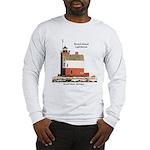 Round Island Lighthouse Long Sleeve T-Shirt