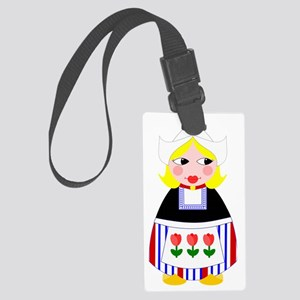 Dutch Large Luggage Tag