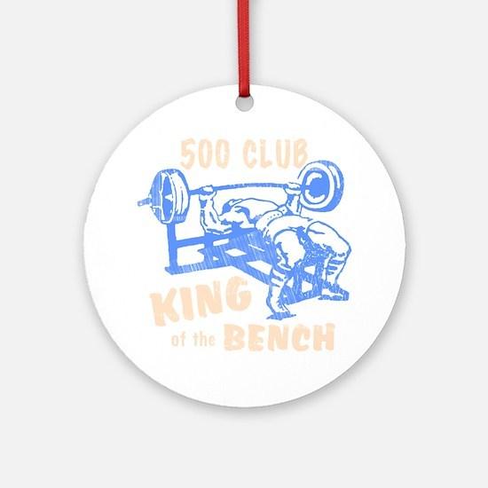 bench_kob_500tran_rev Round Ornament