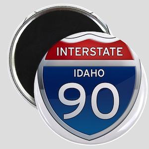 Interstate 90 - Idaho Magnet