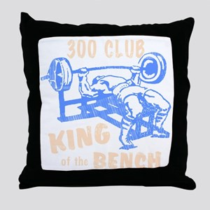 bench_kob_300tran_rev Throw Pillow