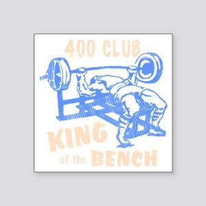 "bench_kob_400tran_rev Square Sticker 3"" x 3"""